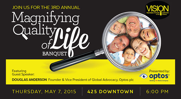 VRCO Magnifying Quality of Life Banquet