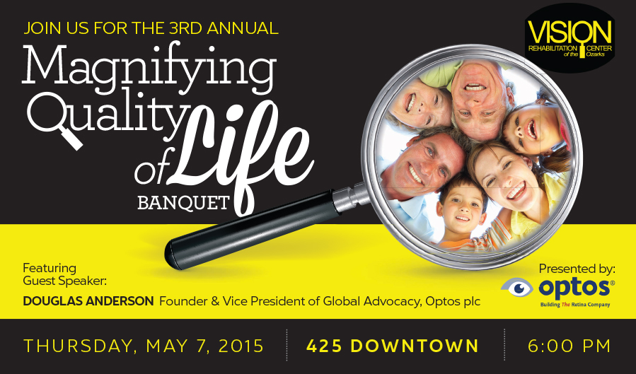 Magnifying Quality of Life Banquet 2015